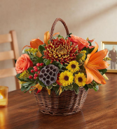 Fall Harvest Basket Fall Harvest Basket