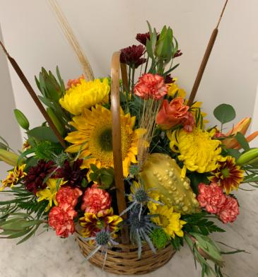 Fall Harvest Bouquet Fresh Arrangement