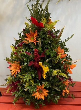 Fall Harvest Boxwood Tree Thanksgiving Special