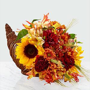 The FTD Fall Harvest Cornicopia  Any Occasion