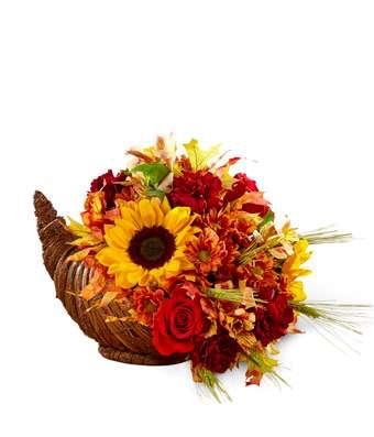 Fall Harvest Cornucopia
