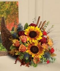 Fall Harvest™ Cornucopia  holiday