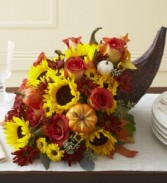 Fall Harvest Cornucopia holiday