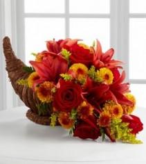 Fall Harvest Cornucopia Thanksgiving