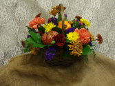 FALL HARVEST FALL FRESH ARRANGEMENT IN BASKET