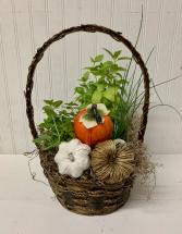 Fall Herb Basket