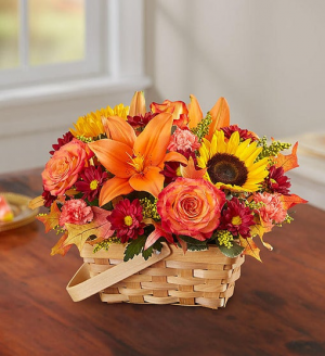 FALL IN A  BASKET   in Lexington, KY | FLOWERS BY ANGIE