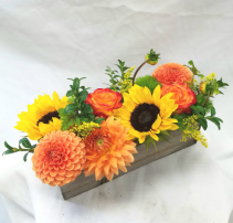 Fall in a Box Fresh Floral Design
