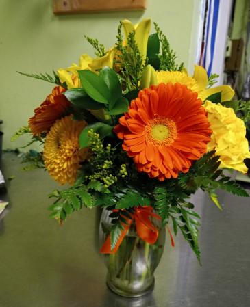 Fall In Fall Vase