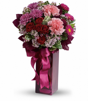 Fall in Love All-Around Floral Arrangement in Winnipeg, MB | KINGS FLORIST LTD