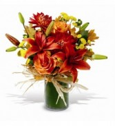 Fall In Love Arrangement Vase Arrangement