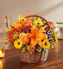 Fall in love Basket