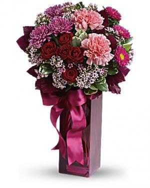 Fall In Love Bouquet in Jasper, TX | BOBBIE'S BOKAY FLORIST