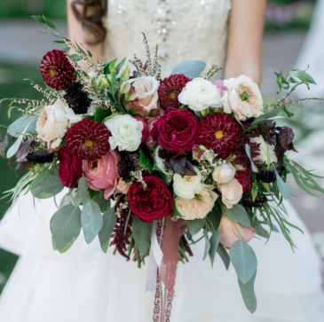 Fall in Love  Bridal Bouquet