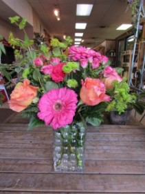 Fall in Love Custom Fitzgerald Flowers Arrangement