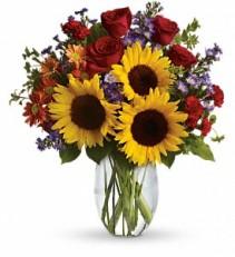 Fall in love fresh flowers