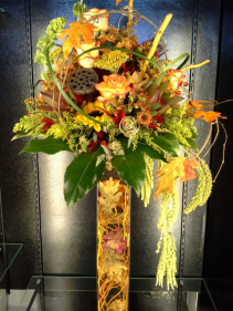 Fall in Love Wedding Centerpiece