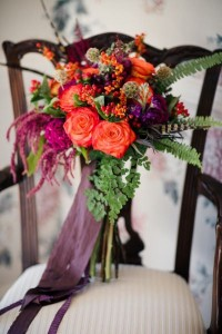 Fall in love with Fall! Bridal Bouquet