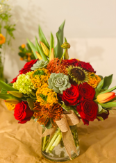 Fall in Style  Vase