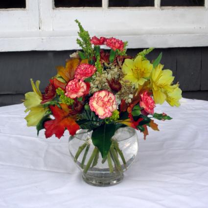 Fall into Autumn vase arrangement