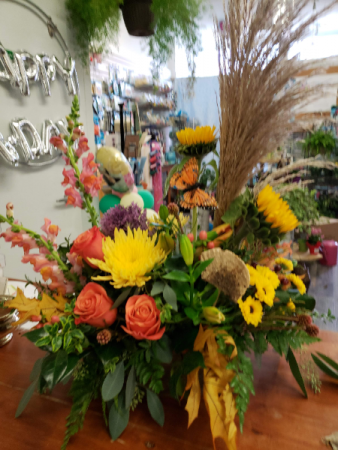 Fall into Color Fall Arrangement