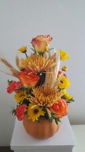 Fall into pumpkin love  Flower Arrangement