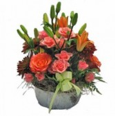 Rose Tones Centerpiece
