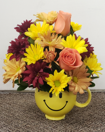 Fall Into Smiles  Keepsake Arrangement