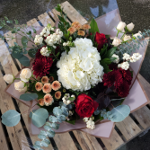 Fall into Wine Reds Bouquet