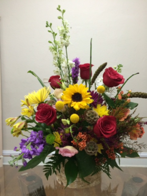 fall is here fall flowers in Nassawadox, VA | Florist By The Sea