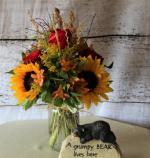 Fall is in the AIr Seasonal  in Stevensville, MT | WildWind Floral Design Studio