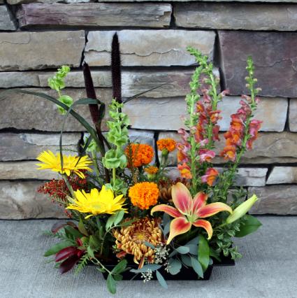 Fall Landscape Deisgn Contemporary Flower Arrangement