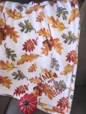 Fall Leaves Blanket  in Milton, FL | PURPLE TULIP FLORIST INC.