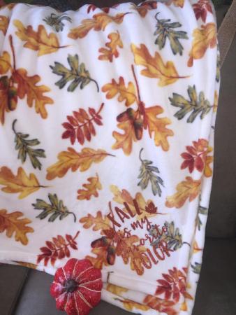 Fall Leaves Blanket