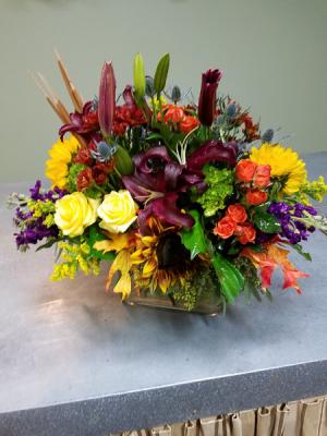 Fall Luxury Vase Arrangement in Henderson, TX   RAYFORD FLORIST & GIFTS