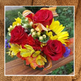 Fall Meadow Bouquet Wedding
