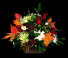 Fall Melody Golden Warm Floral Design