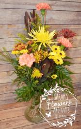 Fall Mix Vase
