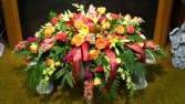 Fall Mixed Floral Spray