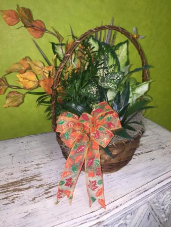 Fall Mixed Plant Basket
