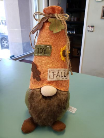 Fall Plush Gnome