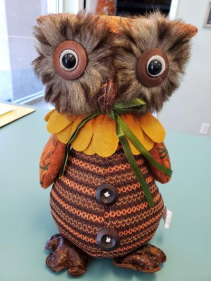 Fall Plush Owl
