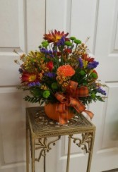 Fall Pumpkin Arrangement  Thanksgiving / Fall Centerpiece