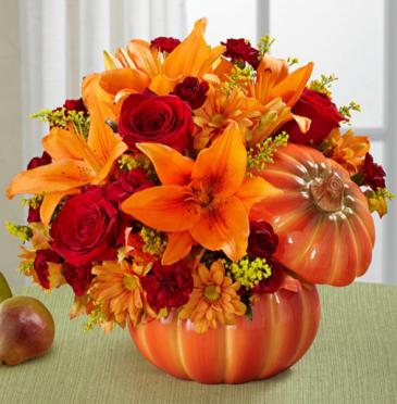 Fall Pumpkin Bouquet
