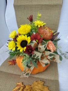 Fall Pumpkin Fall Flowers in Albany, NY | CENTRAL FLORIST
