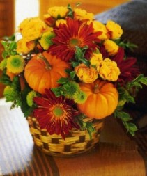 Fall Pumpkin Party Fall arrangement
