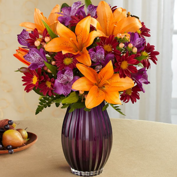 Fall Purple Passion fresh flowers