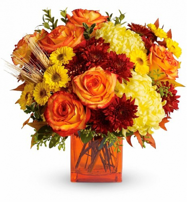 F100 - Fall Radiance Fresh Arrangement