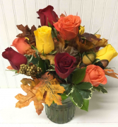 Fall Rose Bouquet