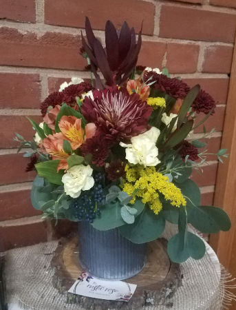 Fall Rustic arrangement